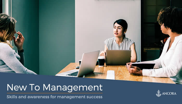New to Management cover