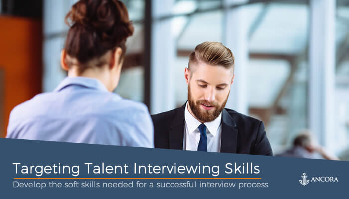 Targeting Talent Interview Skills cover image